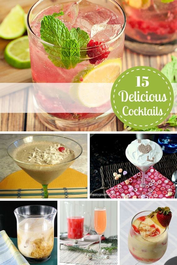 15 Delicious Cocktail Recipes