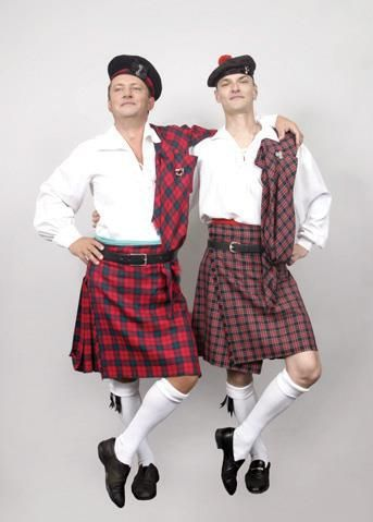 Фото костюма шотландцев