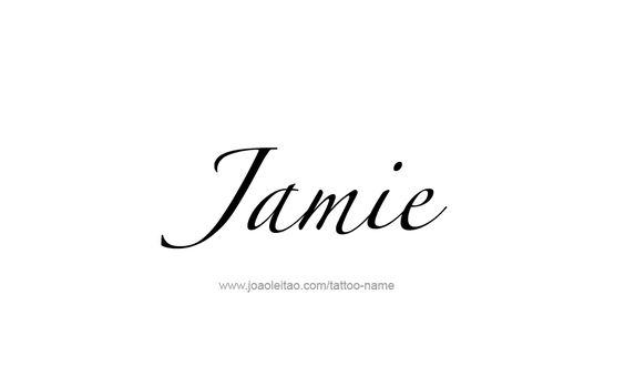 jamie name tattoo designs names design and tattoo designs. Black Bedroom Furniture Sets. Home Design Ideas