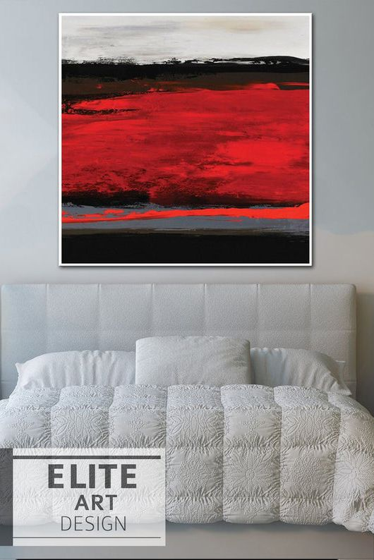 Red Black Abstract Painting Oversized Canvas Art Abstract Decor Hand Art 241 23 1 714 49 Oversized Canvas Art Abstract Decor Abstract Wall Art