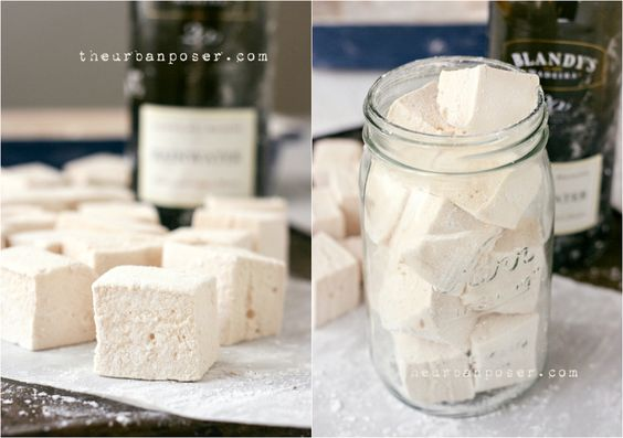 "Madeira Wine ""Boozy"" Marshmallows (Corn/Egg/Cane Sugar/Diary/Grain Free) 