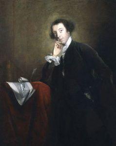 by Sir Joshua Reynolds,painting,circa 1756-1757
