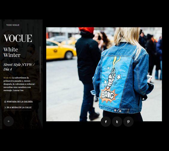 Fashion blogger Emilie Higle wearing denim jacket Daria Maria Design at New York Fashion Week #NYFW #voguespain #voguees #vogueespana