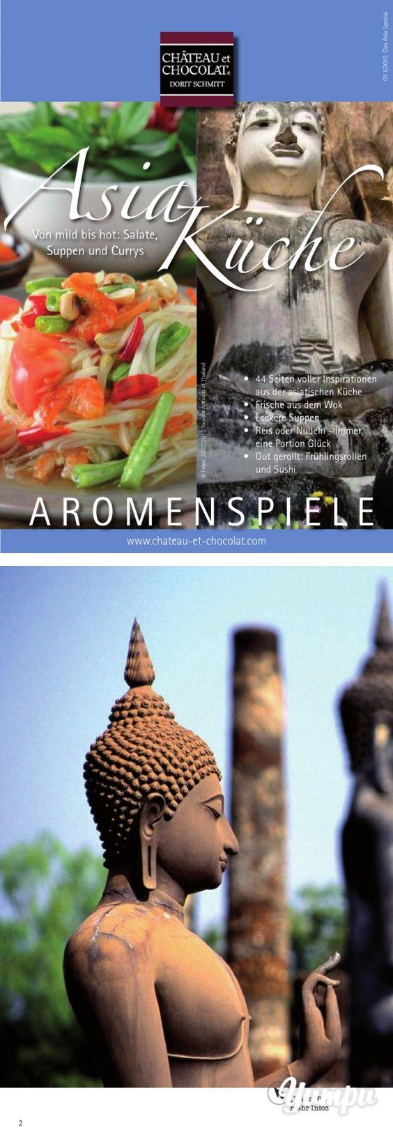 asia-küche - magazine with 44 pages: auch lust auf die asiatische
