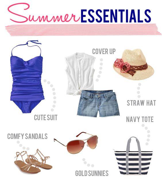 Summer Essentials #OldNavySwim #spon