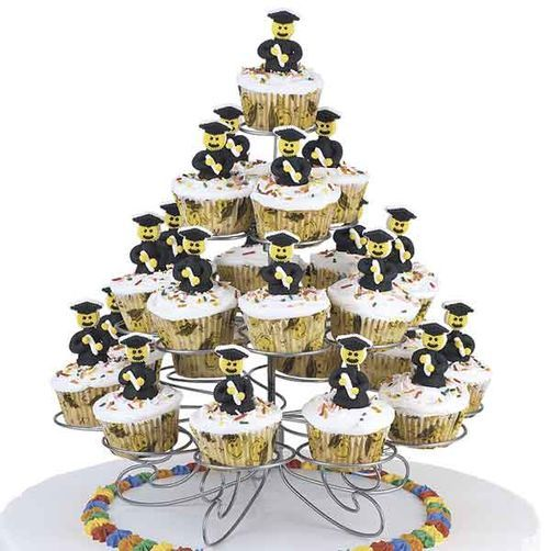 Towering Achievement Cupcakes Tutorial