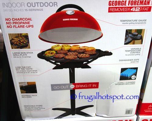 George Foreman Indoor Outdoor Electric Grill. #Costco ...