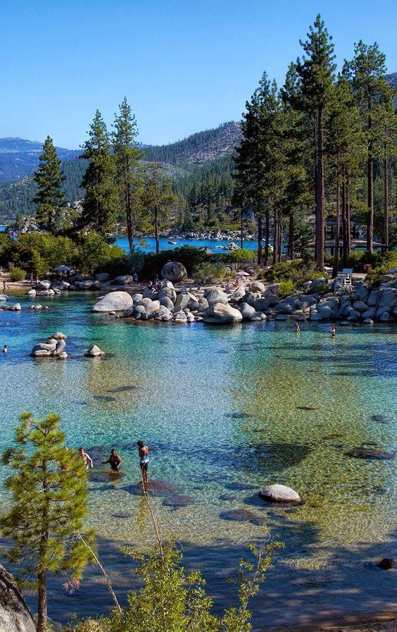 #RVing Harbor. Lake Tahoe, Nevada.