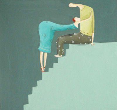 Albertine - L'escalier   Oeuvres   Galerie Robillard