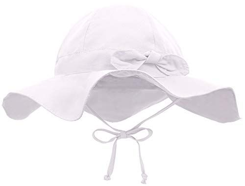 Ghoody Toddler Kids Sun Cap Bucket Hat Lovely Outdoor Baby Cap Sun Beach Hats