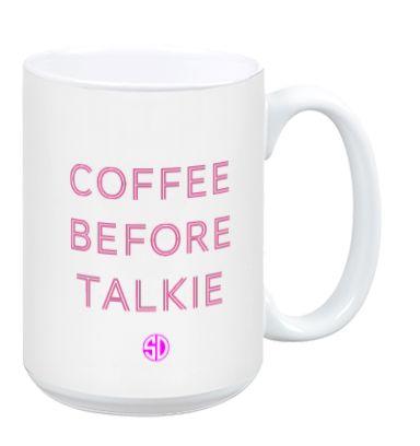 #CoffeeBeforeTalkie