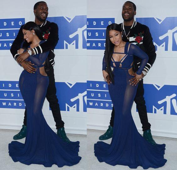 Nicki Minaj and her boyfriend Robert Rihmeek Williams, better known by his stage name Meek Mill