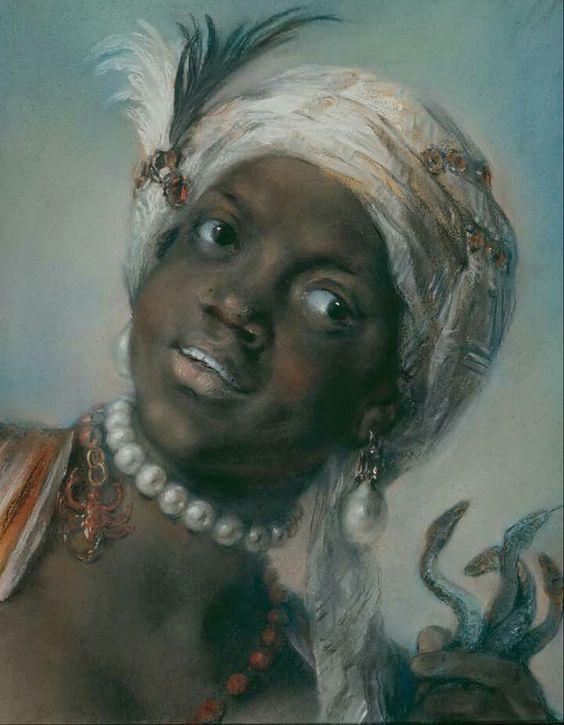 "Rosalba Carriera ""Africa"":"