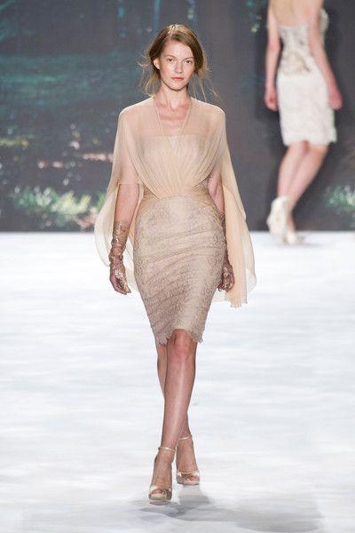 Badgley Mischka at New York Fashion Week Spring 2013