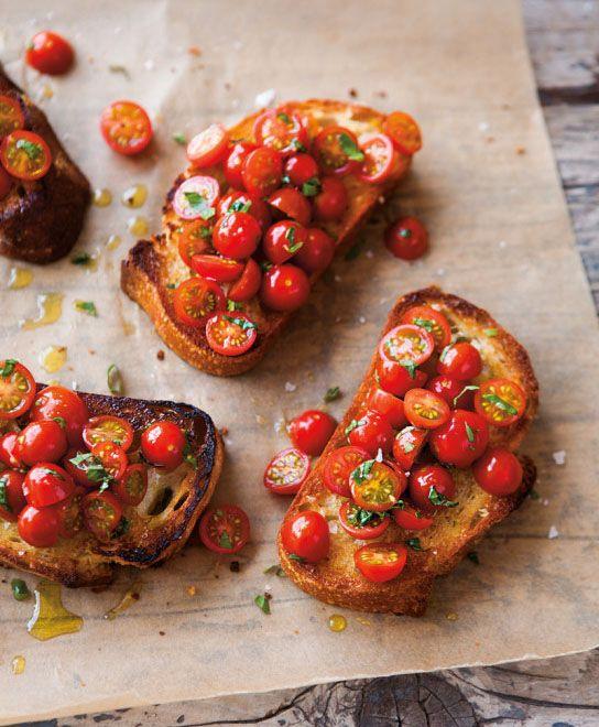 Tomato Bruschetta Tips from @williamssonoma