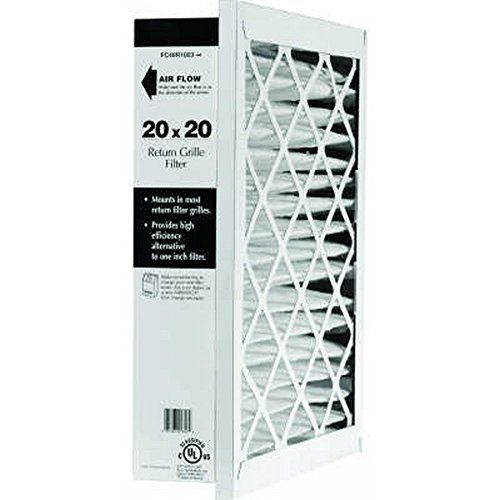 Honeywell Return Grille Replacement Filter Fc40r1011 20 X 25 X 5 Filters Honeywell Replacement Filter