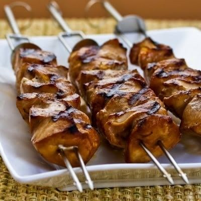 Asian Chicken Kabobs- These kabobs are rich in flavor and heart healthy.