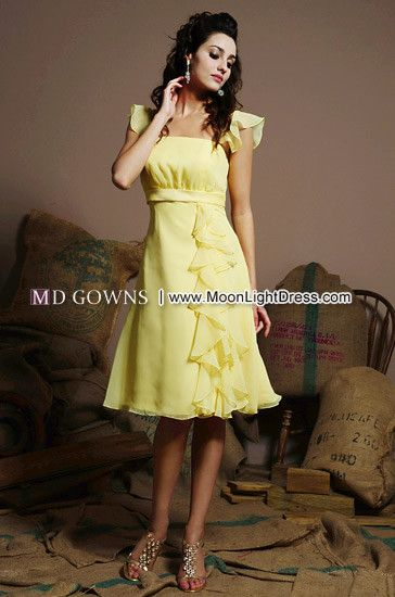 Pretty Bridesmaids Dress Style (7292)    This is super pretty and femme!