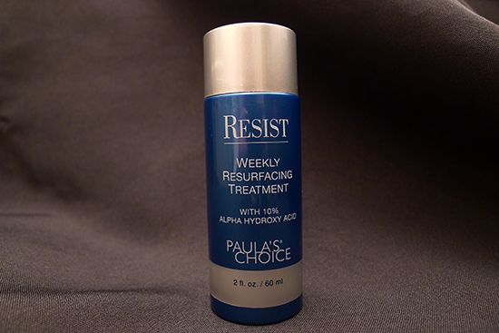 Paula's choice RESIST weekly resurfacing treatment - will try this (and maybe later vitamin C) for PIH spots