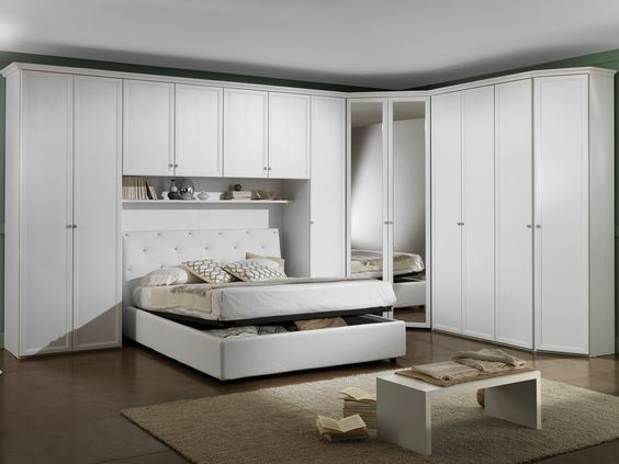 Recamaras matrimoniales closet con cama incluida buscar for Closet dormitorio matrimonial