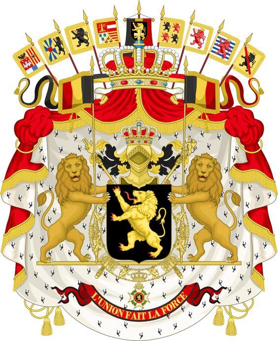 Great coat of arms of Belgium