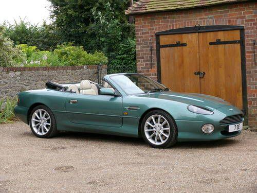 2000 Aston Martin Db7 V12 Vantage Volante Picture 1 Of 6 Aston Martin Aston Martin Db7 Aston