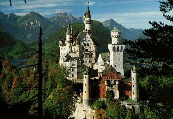 Château de Neuschwanstein, Allemagne                                                                                                                                                      Plus