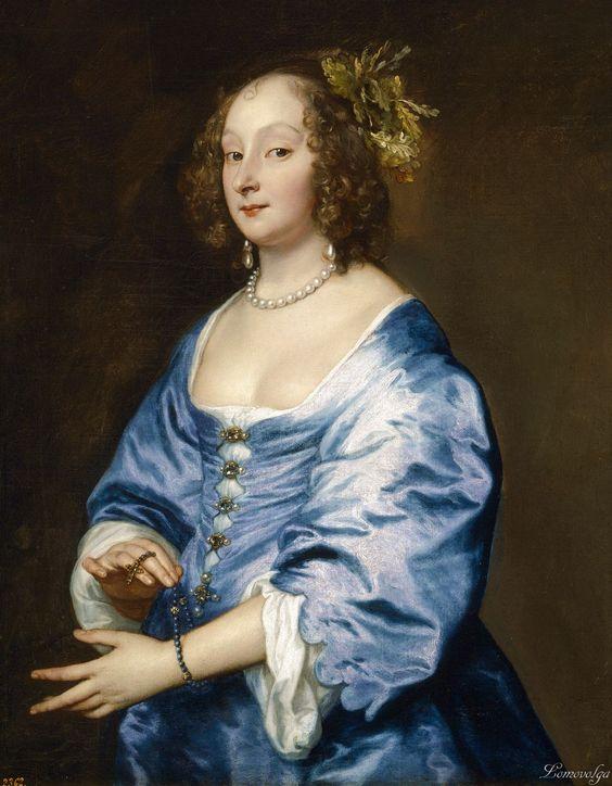 Anthony van Dyck (Flemish painter, 1599–1641) Porträt der Mary Ruthven , Lady van Dyck 1639