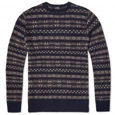 A.P.C. Alpaca Knit
