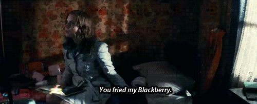#LeapYear Anna: You fried my Blackberry. Declan: You fried the whole village.