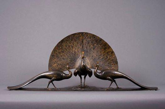 Bronze Peacocks # Gaston Lachaise