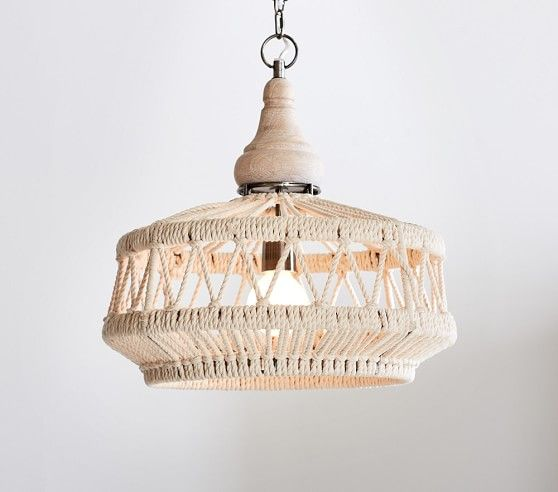 Rope Chandelier Pottery Barn Kids Lampen Stallbeleuchtung