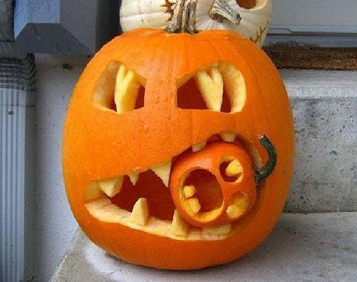 Cannibal Pumpkin!! AHHH