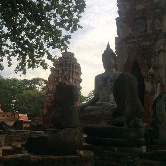 """วัดมหาธาตุ Wat Maha That  #thailand #ayuttaya #travel #泰國 #艾尤塔雅 #旅行 #태국 #아유타야 #여행"" Photo taken by @ishideo on Instagram, pinned via the InstaPin iOS App! http://www.instapinapp.com (07/23/2015)"
