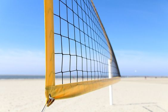 Volleyball Net Height What Is It For Men Women Coed And Sitting With Images Volleyball Rules
