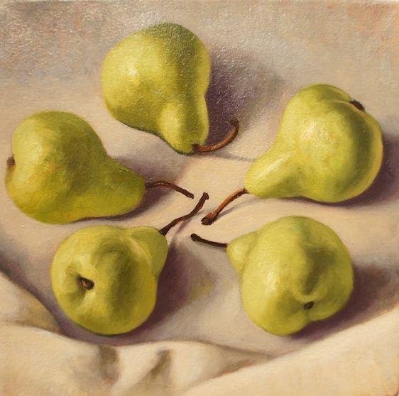 Crispin AKERMAN – Five Pears