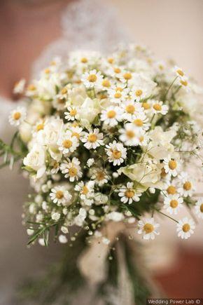 Bouquet Sposa Fiori Campo.A Nozze Con I Fiori Di Campo Allestimenti Easy Dal Fascino