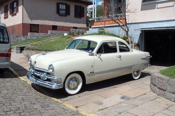 1951 Ford | Ford Coupê 1951 do Eugênio
