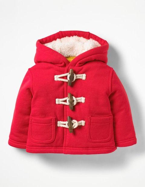 Menina De Casaco De Algodão Vermelho No Inverno Personagens