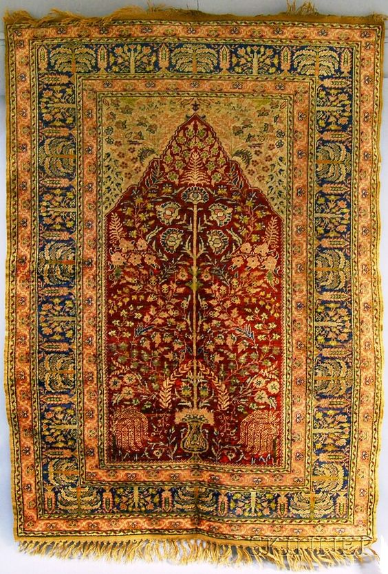 Kayseri Prayer Rug, Central Anatolia, early 20th century, 5 ft. 4 in. x 3 ft. 10 in.