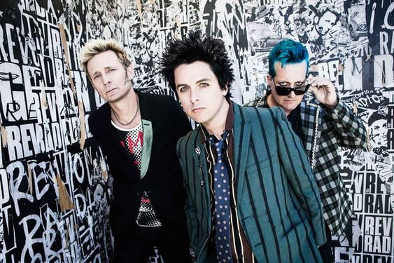 Green Day Group Photo
