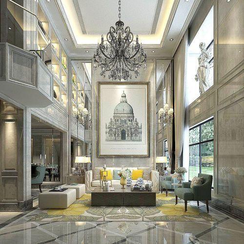 Pin On Luxury Villa Modern House Interiors