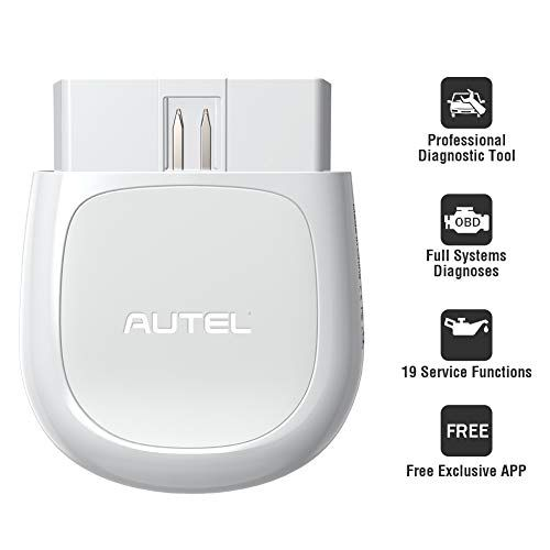 Autel AP200 Bluetooth OBD2 Scanner Car Code Reader with All System Diagnoses and Service Functions Professional Automotive Scan Tool for iPhone Android