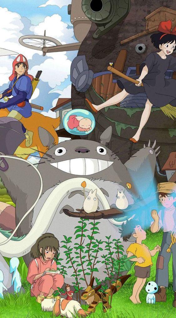 ✯Fondos De Pantalla✯    HD    (De Anime) - Totoro #wattpad #de-todo