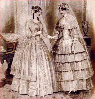 19th century wedding dresses fitting in rather for 19th century wedding dresses