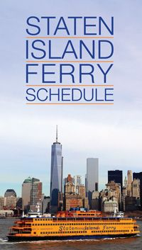 What's better than a boat-ride around lower Manhattan on a beautiful day? A free one! If you haven't yet, you must take a trip on the Staten Island Ferry.
