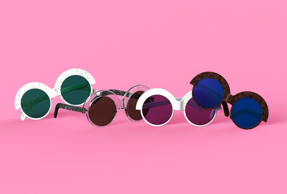 Mindil Sunglasses I designed for the Glarce Academy competition. Mindil was selected as runner-up and will be manufactured and sold for SS2015. #sunglasses #mindil #glarce #glarceacademy