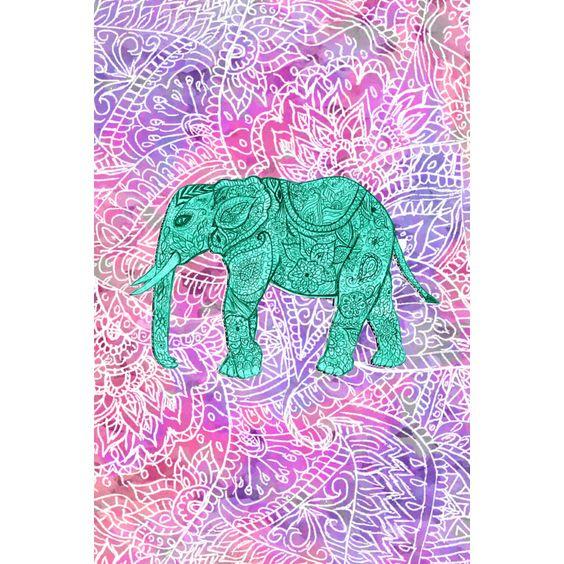 Tribal Iphone Wallpaper: Wallpaper Iphone Tumblr Elephant