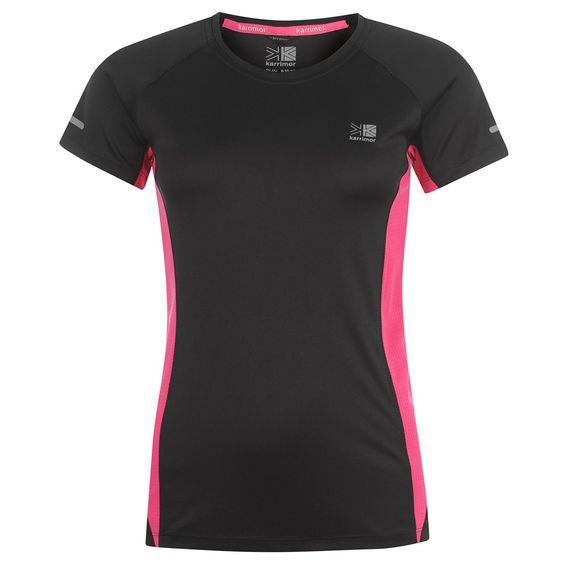 Karrimor | Karrimor Short Sleeeved Hardlopen T-shirt Vrouwen | Vrouwen T-shirt