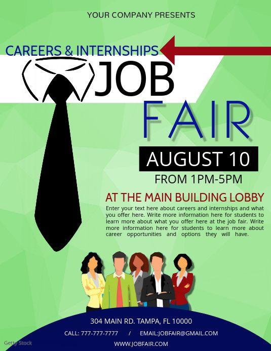 Job Fair Job Fair School Fair School